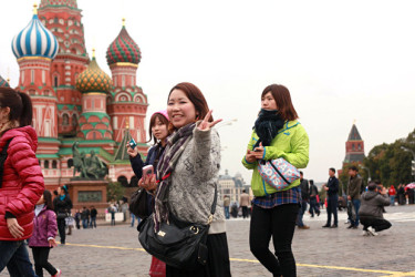 китайские туристы2